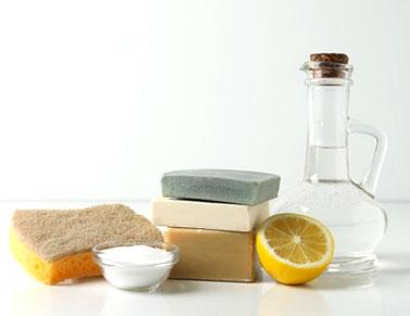 savon noir citron vinaigre et bicarbonate